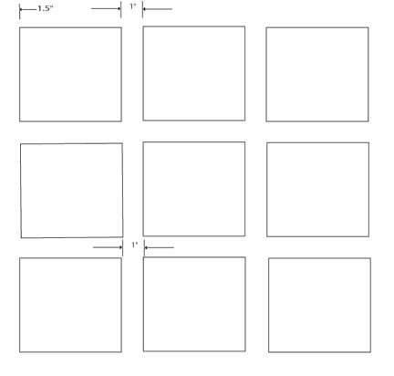 Grid layout page